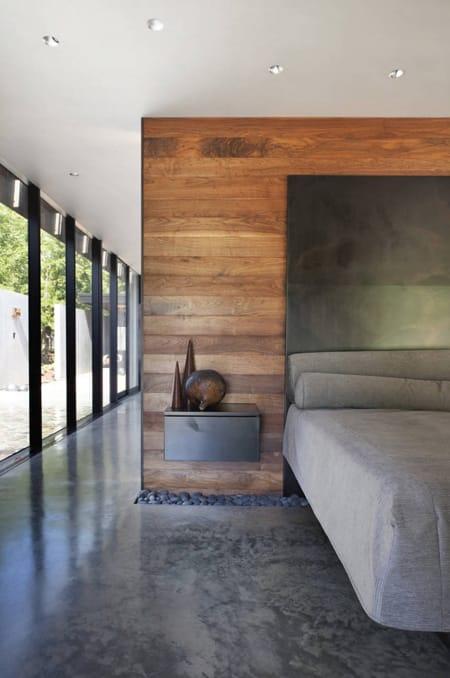 dark polished concrete floor. The Versatile Look Of Polished Concrete Floors | HomeandEventStyling.com Dark Floor