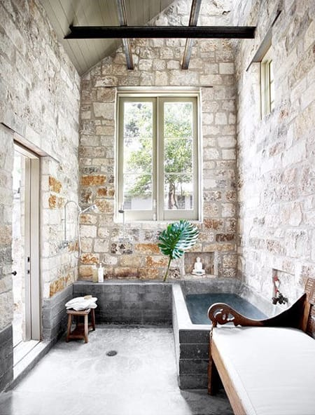Bathrooms With Exposed Brick Walls Megan Morris