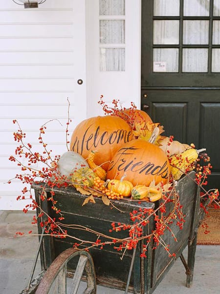 10 Easy Fall Decorating Ideas | HomeandEventStyling.com