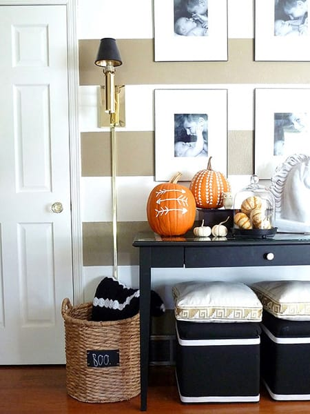 entryway painting ideas 10 festive ideas for a halloween foyer megan morris