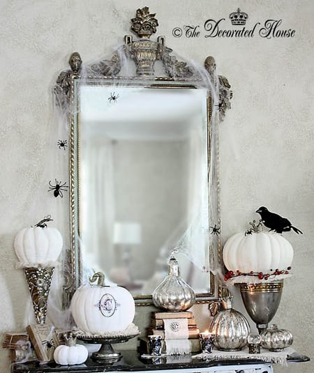 10 Festive Ideas for a Halloween Foyer   HomeandEventStyling.com