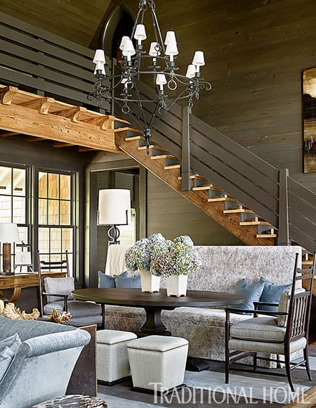 Home Tour: Rustic & Contemporary Lakeside Home   HomeandEventStyling.com