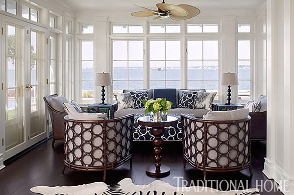Home Tour: Neutral and Stylish Home on Long Island Sound | HomeandEventStyling.com
