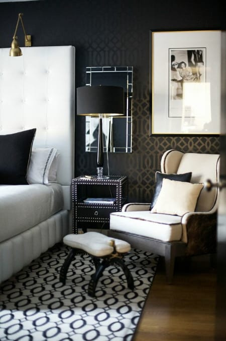 The Elegant Look Of Neutrals Accented With Black
