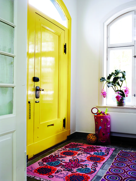 10 Ways to Update Your Doors with Character | HomeandEventStyling.com