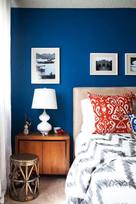 The Eye Catching Look Of Cobalt Blue Decor Homeandeventstyling Com