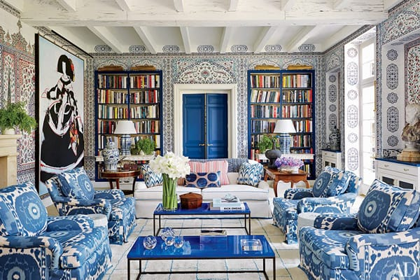 The Eye Catching Look Of Cobalt Blue Decor Homeandeventstyling