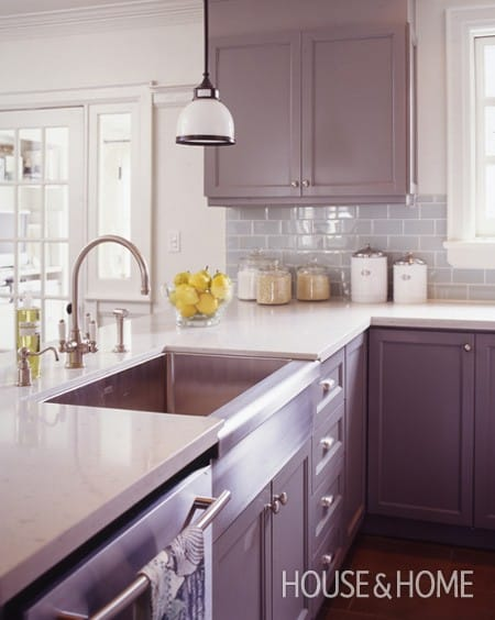 Getting Colorful With Your Kitchen Cabinets Megan Morris
