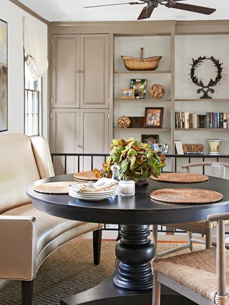 The Stylish Look Of A Dining Room Settee | HomeandEventStyling.com Part 77