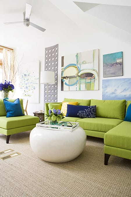 Decorating With Lime Green Accents Megan Morris