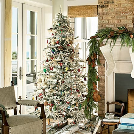 creative ideas for christmas tree decor homeandeventstylingcom - Beach Themed Christmas Trees