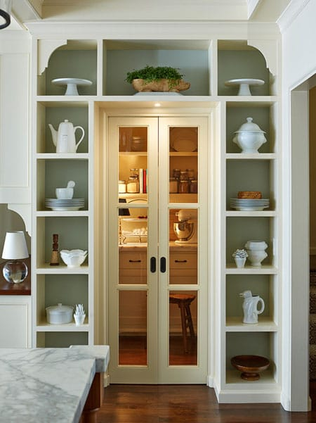 maximizing space shelves around doors amp windows best kitchen pantry design ideas amp remodel pictures houzz