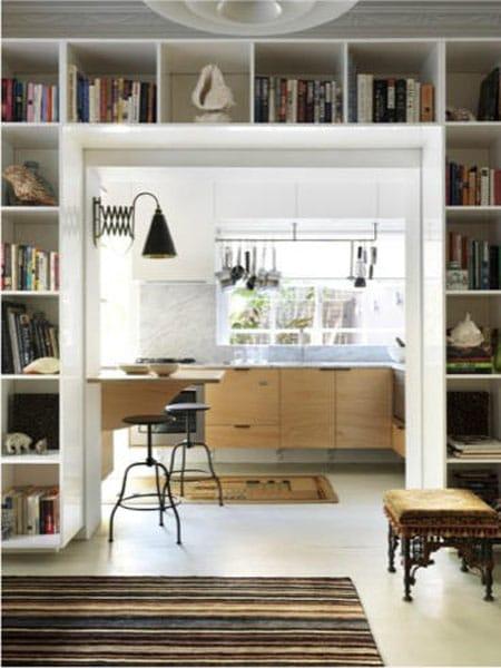Maximizing Space Shelves Around Doors Windows