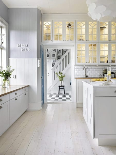 The Pristine Style of White Floors | HomeandEventStyling.com