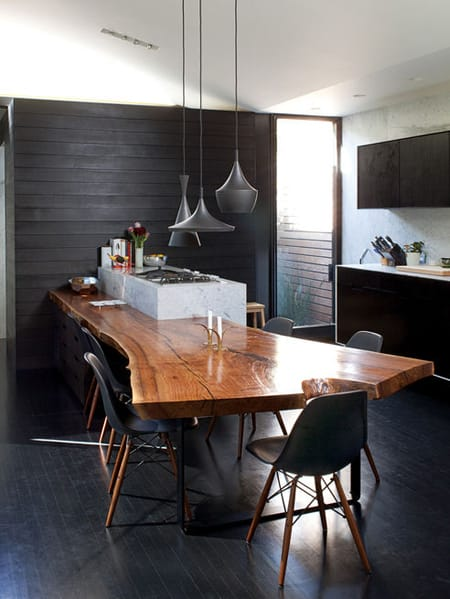 The Rustic Character of Wood Slabs   HomeandEventStyling.com