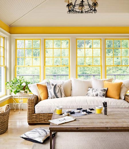 Yellow Accent Wall Decor : Decorating with yellow accents megan morris