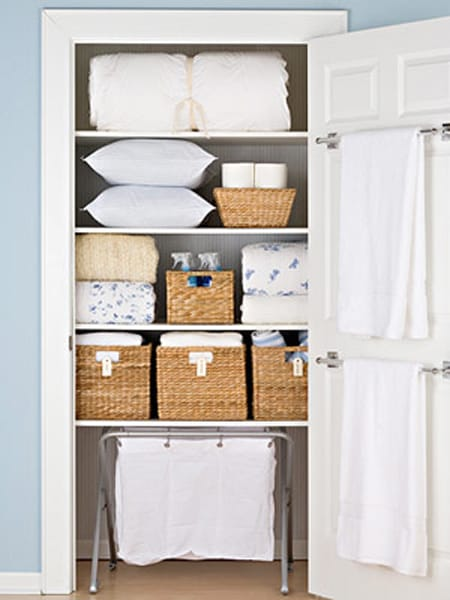 Clever Hall Closet Storage Ideas