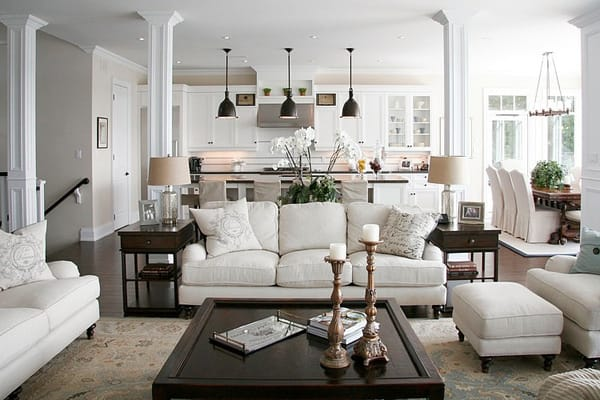 How to Make the Most of an Open Concept Layout | HomeandEventStyling.com