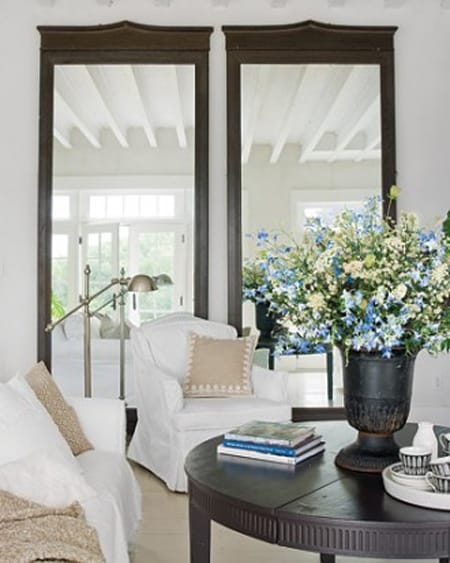 The Versatile Style of Oversized Mirrors   HomeandEventStyling.com
