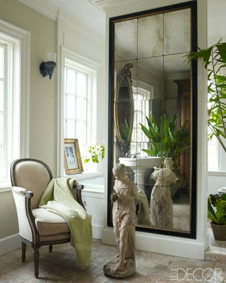 The Versatile Style of Oversized Mirrors | HomeandEventStyling.com