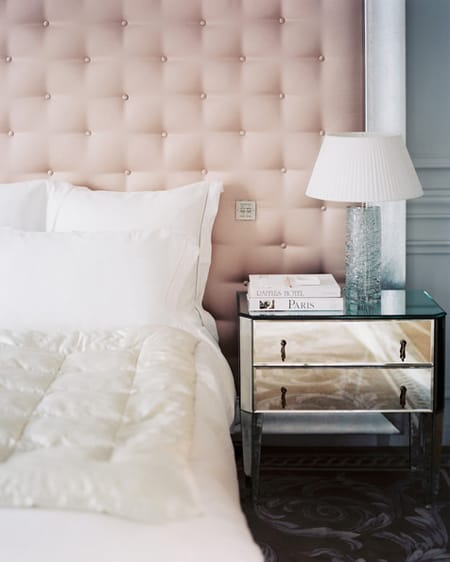 The Easy & Affordable Look of Upholstered Walls   HomeandEventStyling.com