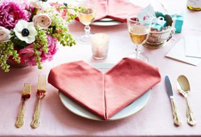Special Touches for Your Valentine's Day Table | HomeandEventStyling.com
