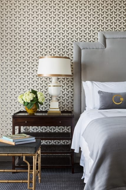 How to decorate a boutique hotel style bedroom megan morris for Chic boutique bedroom ideas