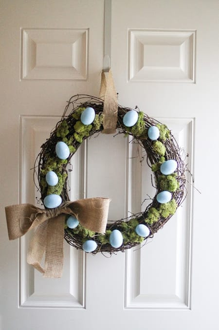10 Ideas for an Easter Entryway | HomeandEventStyling.com