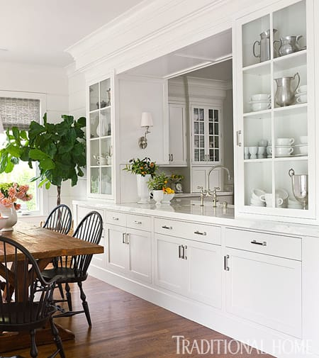 10 kitchen pass throughs that serve up style - Kitchen dining room pass through ...