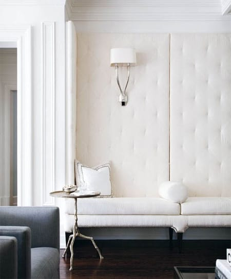 Decorating with the Unexpected: Leather Floors & Walls | HomeandEventStyling.com