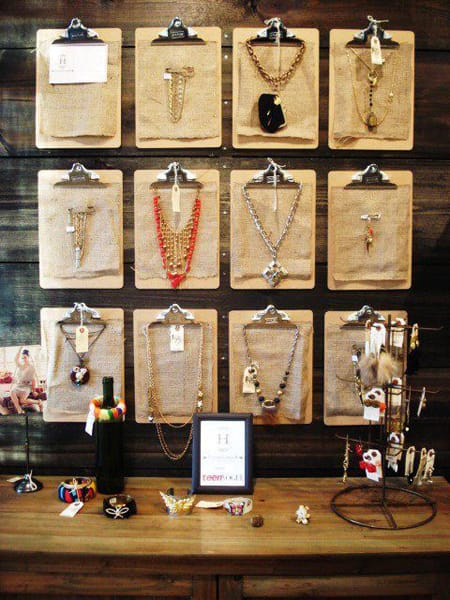 10 Creative Ways to Display Your Jewelry | HomeandEventStyling.com