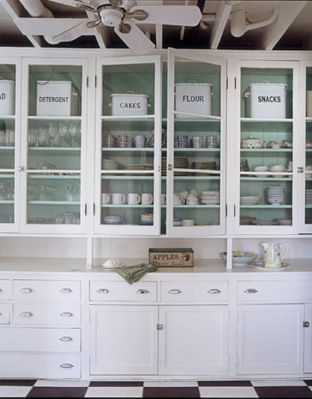 Painting kitchen cabinets white theme