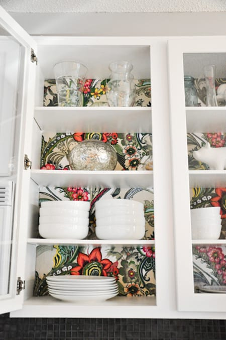 Quick Character for Your Kitchen Cabinets | HomeandEventStyling.com