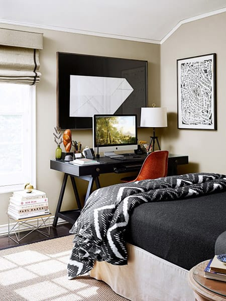 10 Inspiring Home OfficeGuest Room Combinations