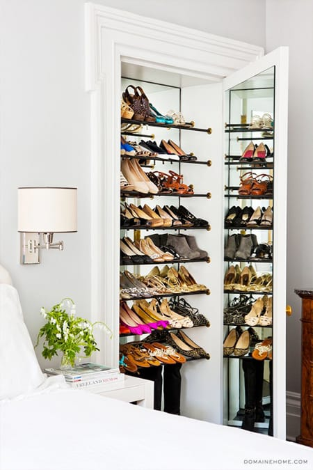 10 Stylish Ways to Organize Your Shoes | HomeandEventStyling.com
