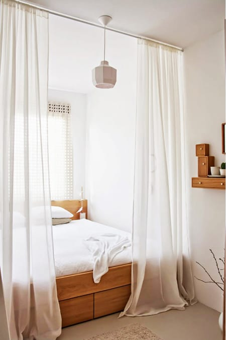 How To Create Privacy For A Studio Apartment Bedroom