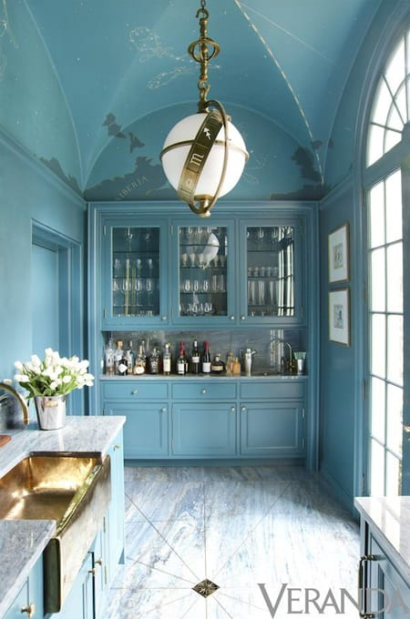 The Best of Bold Blue Walls | HomeandEventStyling.com