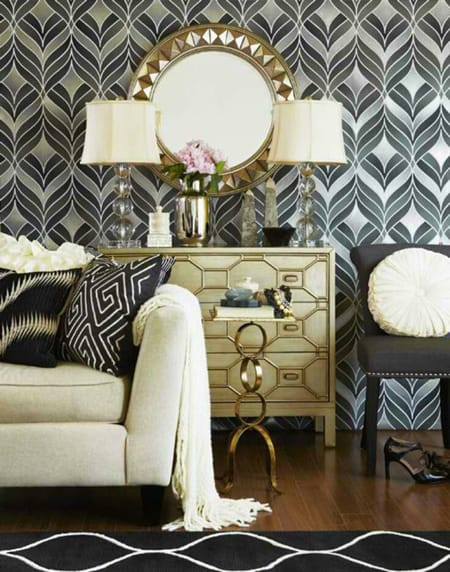 10 Spectacular Hollywood Regency Spaces | HomeandEventStyling.com