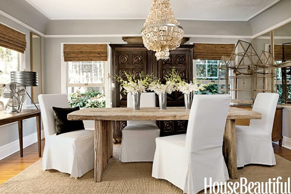 Rustic Chic Dining Room Tables how to get the rustic chic dining room look
