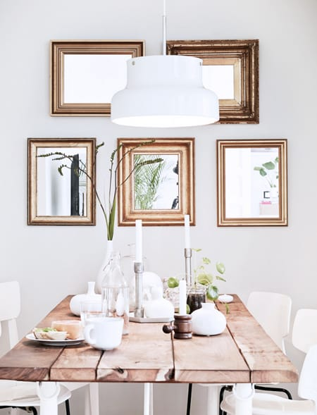 how to get the rustic chic dining room look