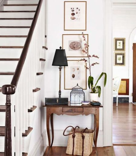 How to Make a Small Entryway Feel Grand | HomeandEventStyling.com