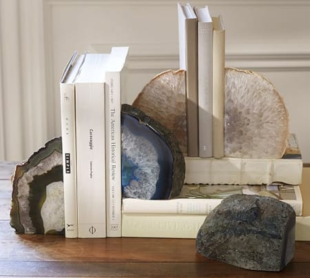 How Adorable Are These Agate Book Ends Each One Is Unique