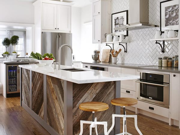 Stepping Up Your Kitchen Island   HomeandEventStyling.com