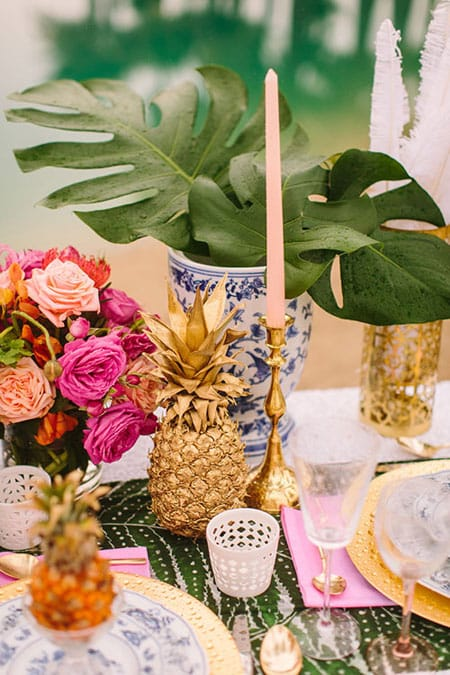 10 Summer Table Setting Ideas | HomeandEventStyling.com