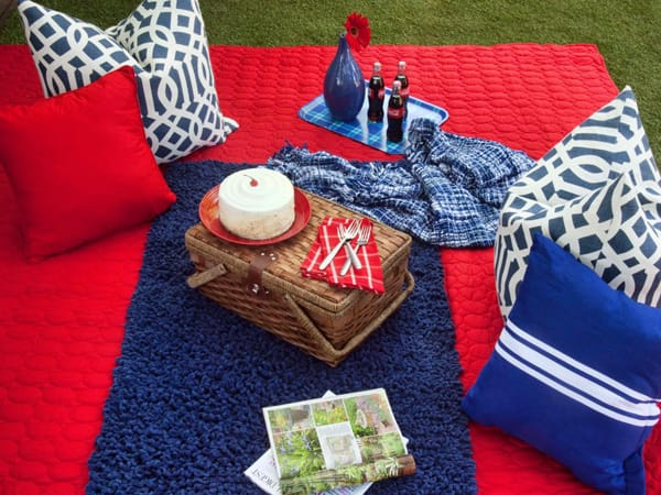 Last-Minute 4th of July Table Ideas | HomeandEventStyling.com