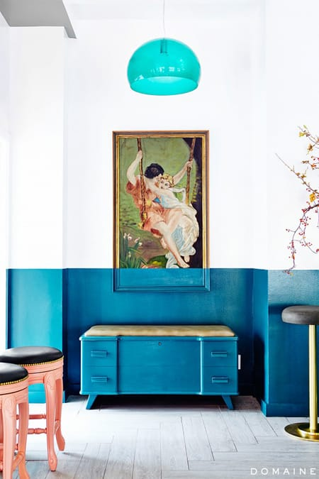 Having Fun with Color Blocking | HomeandEventStyling.com #decor