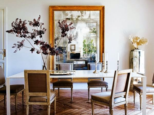 How to Use the Space Around the Dining Room Table | HomeandEventStyling.com