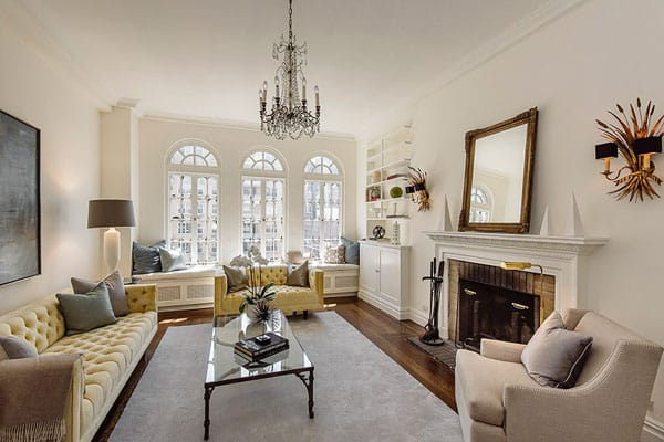 Home Tour: Candace Bushnell's Classic NYC Apartment | HomeandEventStyling.com