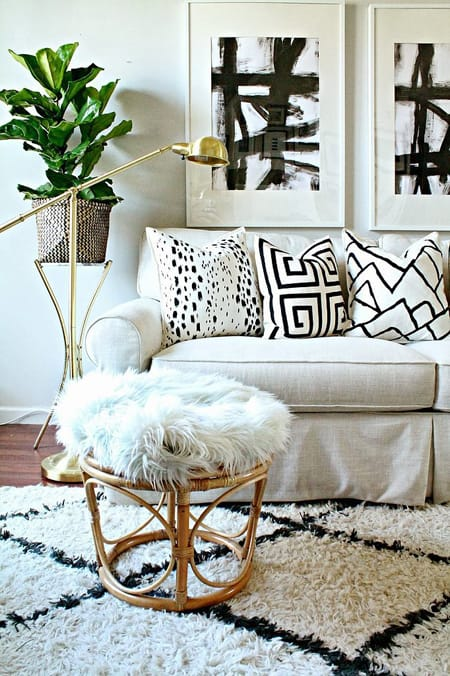 Creating Ambiance with House Plants | HomeandEventStyling.com