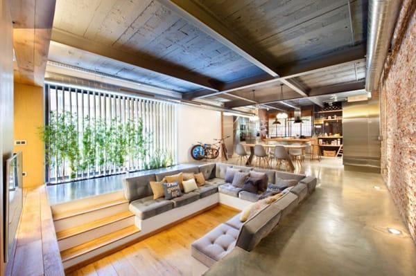 10 Stylish Sunken Living Rooms   HomeandEventStyling.com